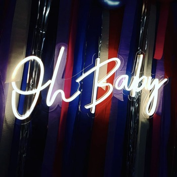 Factory direct oh baby neon light sign led Prices