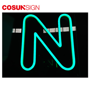 Cosun Sign Outdoor laminated large alphabet color led sign