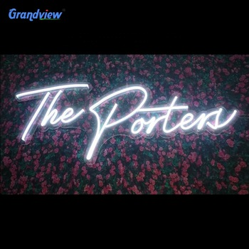 Best selling indoor and outdoor acrylic neon signs led