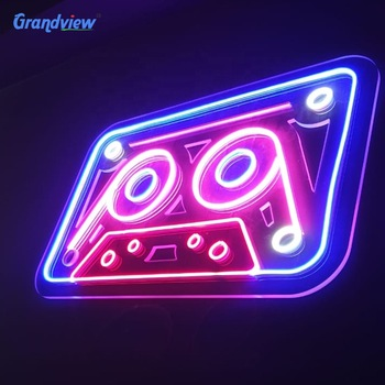 Wall mounted bar sign neon acrylic led neon flex signs