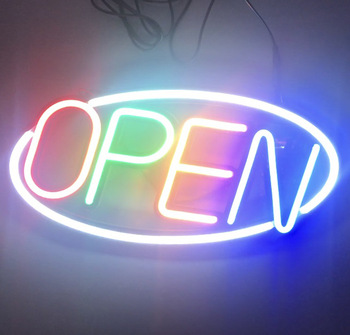 High Standard Open Letter Neon Led Sign With Cheap Price