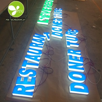 Weather-resistent led signs and light