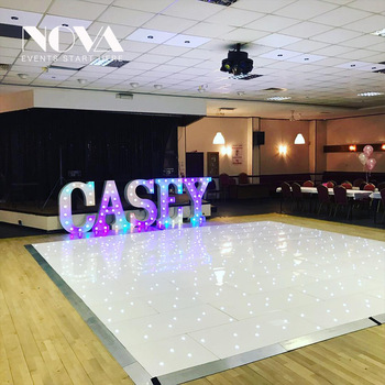 2018 Height Large Metal Led Marquee Letters