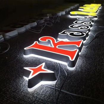 Custom Engraved Laser Cut Led Acrylic Letter Acrylic Led Light Letter Sign Board
