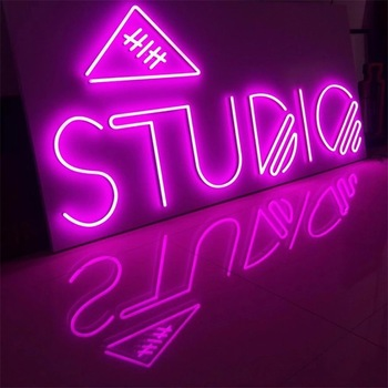 Cool Customized Sign Light Maker Pineapple Glass Neon Lamp For Home Decoration