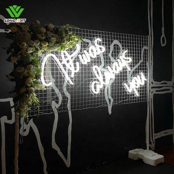 wedding party love neon lighting sign love gift neon sign showing love heart neon signage