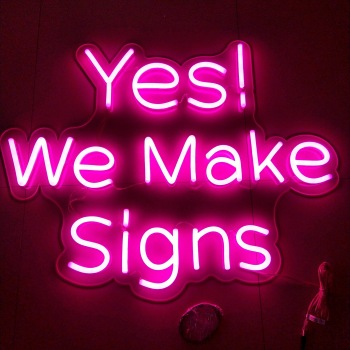 Favorable price new design open led neon sign led neon signage