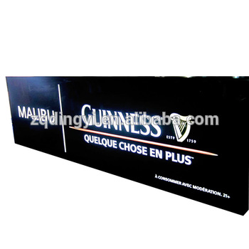 custom made advertising display signage illuminated led sign manufacturers