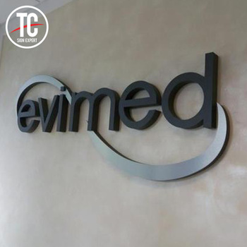 Perfect custom 3d logo signage for advertising display
