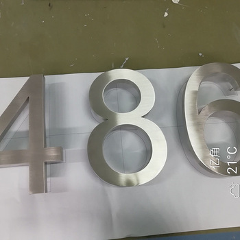 durable laser cutting stainless steel sign letters