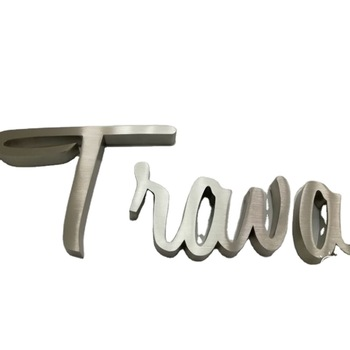 Front Shop Waterproof Large Decorative Metal Channel Letters