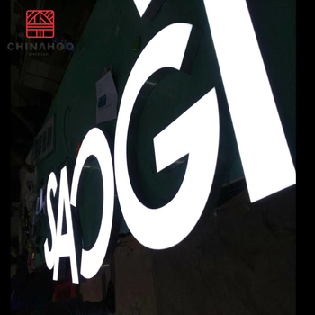 Chinahoo customized outdoor led acrylic signboard channel letter signage 3d letters