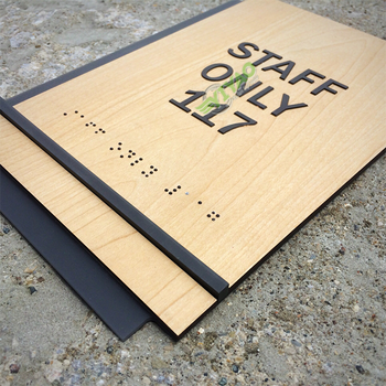 YIYAO design signage acrylic signs for office hotel