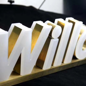 Chinahoo 3D aluminium profile stainless steel signage channel letter sign