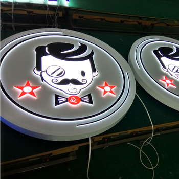 LED Store Front Front Light Indoor Sign
