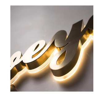 Chinese Manufacture 3D Luminous Characters Signage Professional Led Sign Maker foam letters channel letters led letters