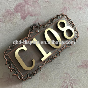 hanging office door led signs popular metal hotel numbers signage for wall