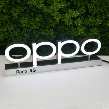 2020 FOG High Quality ABS injected mould Letter Sign Outdoor led Backlit signage for Shop, retail stores