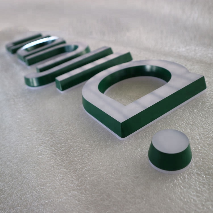 Outdoor Store Custom Made Plastic Letters 3D China Led
